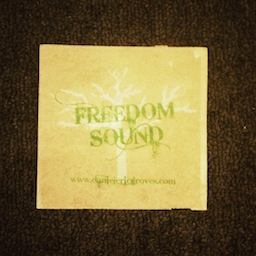 Freedom Sound Sticker